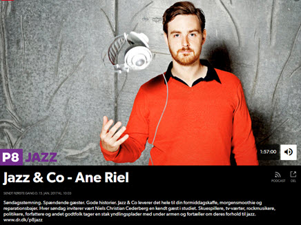 Ane Riel i Jazz & Co på DR P1