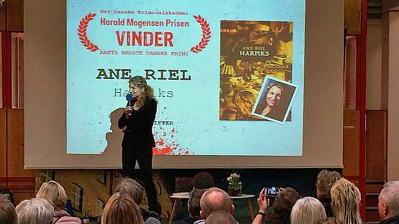 Ane Riels modtager Harald Mogensen Prisen